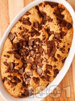 Лесен кекс / сладкиш с шоколад - снимка на рецептата